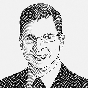 Drawing of Marc Gillinov, MD