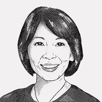 Drawing of Rosanne Kho, MD