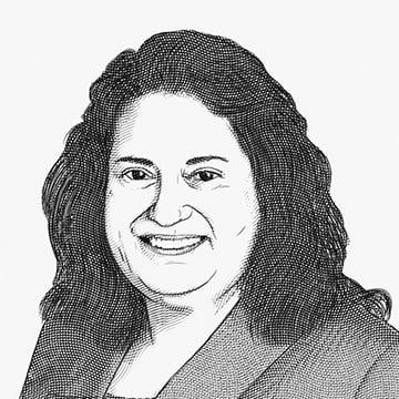 Illustration of Julie Lang, MD