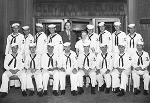 Group image of navy personnel