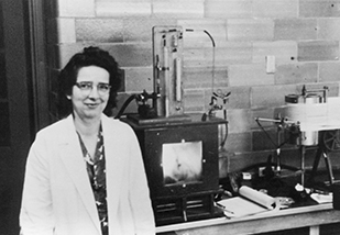 Arda Green, MD standing next to an isolate serotonin
