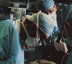 Delos Cosgrove, MD performing surgery
